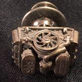 ラベルボタン フラット6 ヴィンテージ 商品画像1