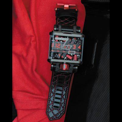 TREAD1 G63 Black & Red トレッド1G63ブラックアンドレッド